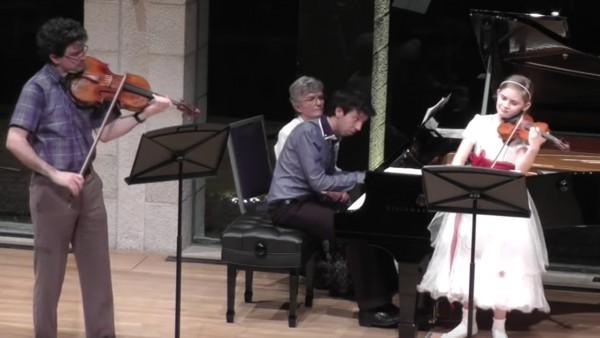 Trio Movement for Violin, Viola and Piano, Composed by Alma Deutscher, 2014