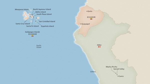 East Galápagos, Machu Picchu & Peru (Expedition)