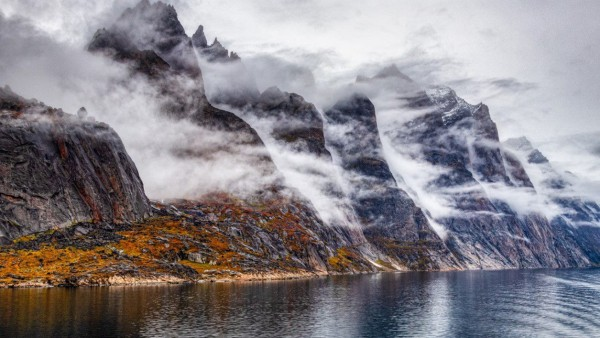 Foggy Fjords