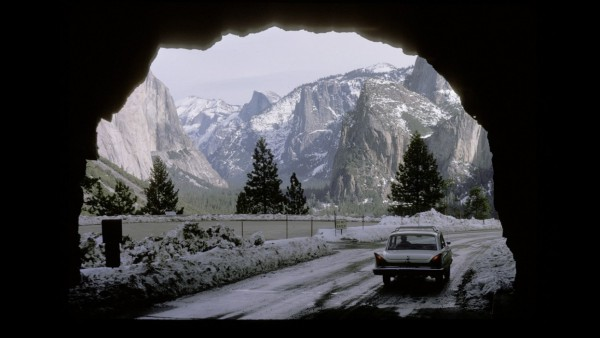 Looking into Yosemite National Park