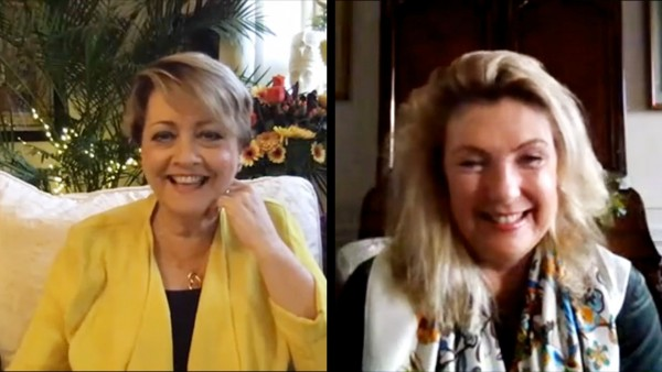 Anne Diamond interviews the Countess of Carnarvon