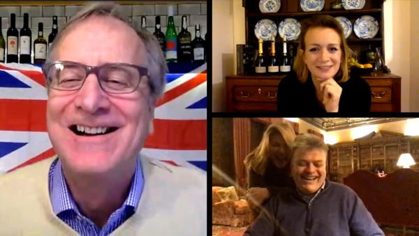 Wine Wednesday (United Kingdom) with Laura Rhys, MS, and George Herbert, the 8th Earl of Carnarvon