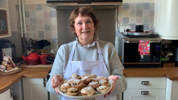 Christmas Cooking with writer Karen S. Burns-Booth