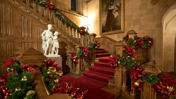 Highclere at Christmas with Lady Carnarvon