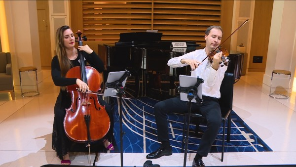 Sunday Sessions with Classical Duo Isabela and Paul