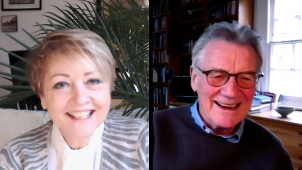 Anne Diamond interviews actor Sir Michael Palin