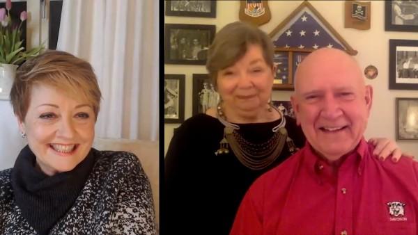 Anne Diamond interviews Vietnam veteran Porter Halyburton