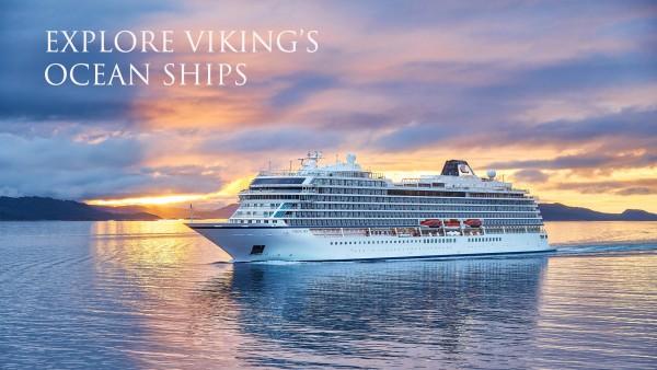 Discover Viking's ocean ships