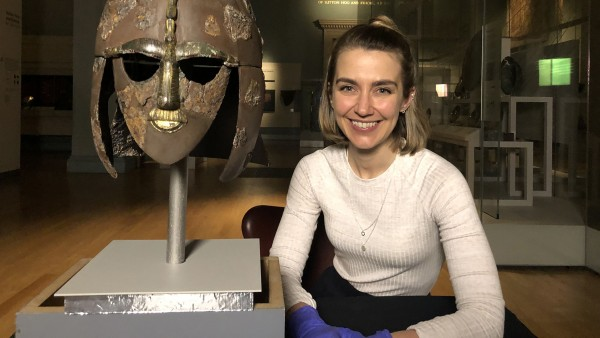 Discover the Sutton Hoo helmet with Dr. Sue Brunning of the British Museum
