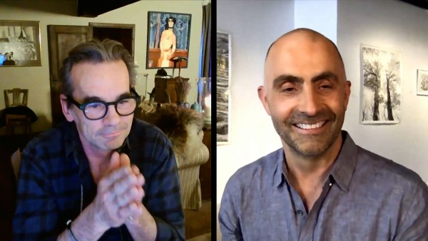 Alastair Miller in conversation with artist Bill Claps