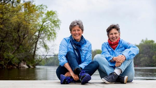 Anne Diamond interviews polar explorers Liv Arnesen and Ann Bancroft
