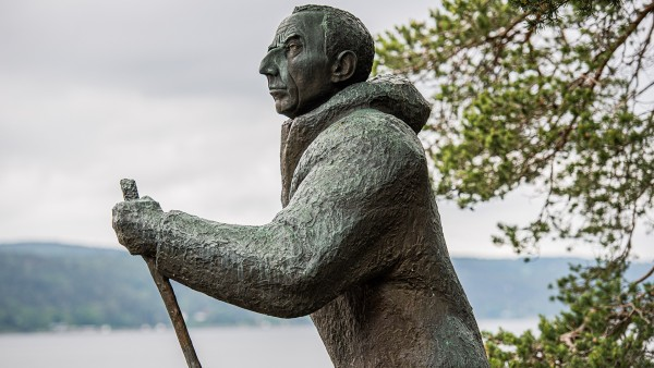 Trace the steps of Norwegian explorer Roald Amundsen with William Thayer