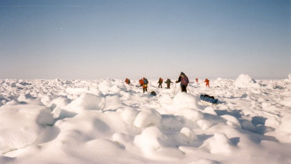 Anne Diamond interviews polar explorer Sue Stockdale