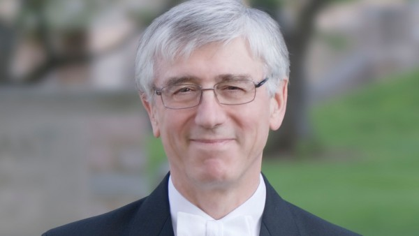 Anne Diamond interviews conductor and organist Stephen Darlington of Christ Church Cathedral, Oxford
