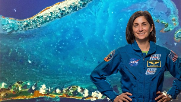 Anne Diamond interviews astronaut and artist Nicole Stott