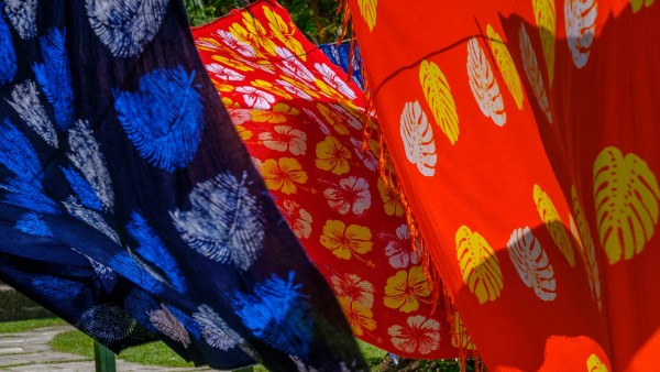 Karine explores textiles from around the world
