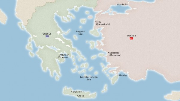 Ancient Mediterranean Treasures (Ocean)