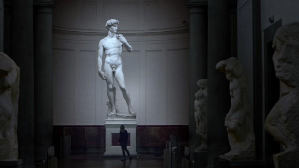 Restoring Michelangelo's David