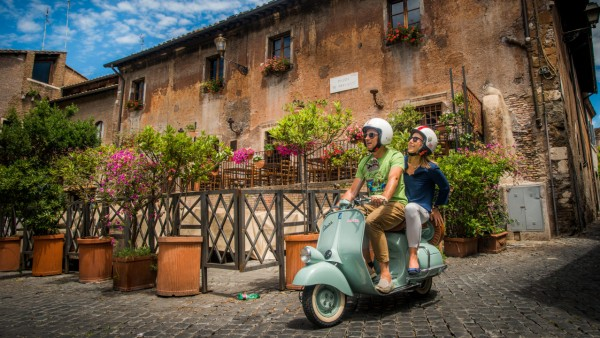 Italy's Fabled Vespa Scooter