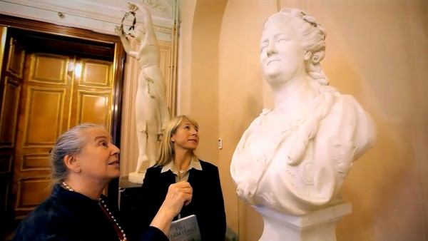 Geraldine Norman and the Hermitage Museum