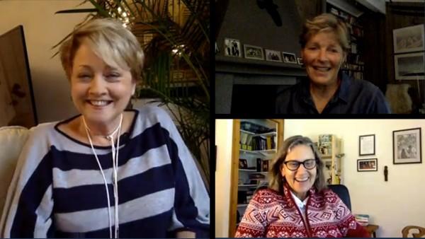 Polar Explorers, Liv Arnesen & Ann Bancroft