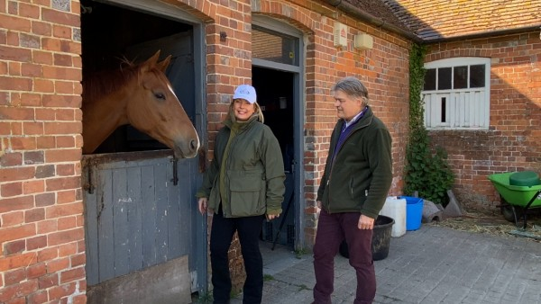 At Home at Highclere Castle: Foals & Febbie