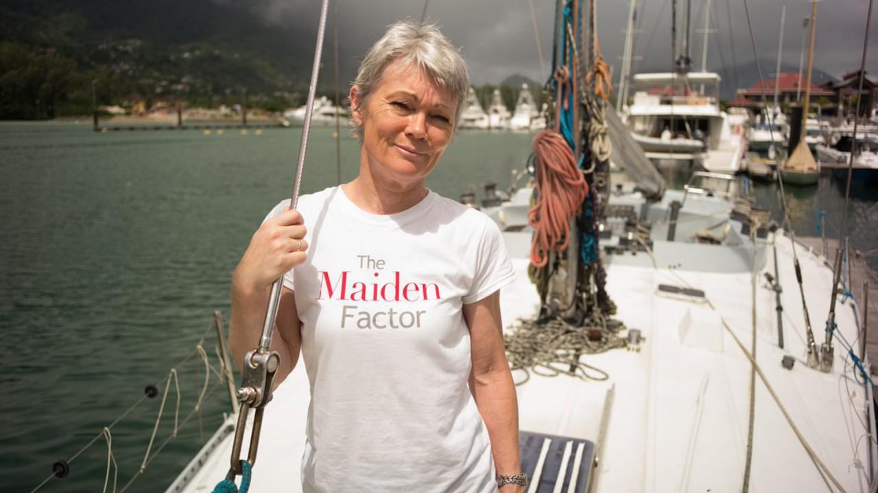 Anne Diamond interviews Yachtswoman Tracy Edwards, MBE